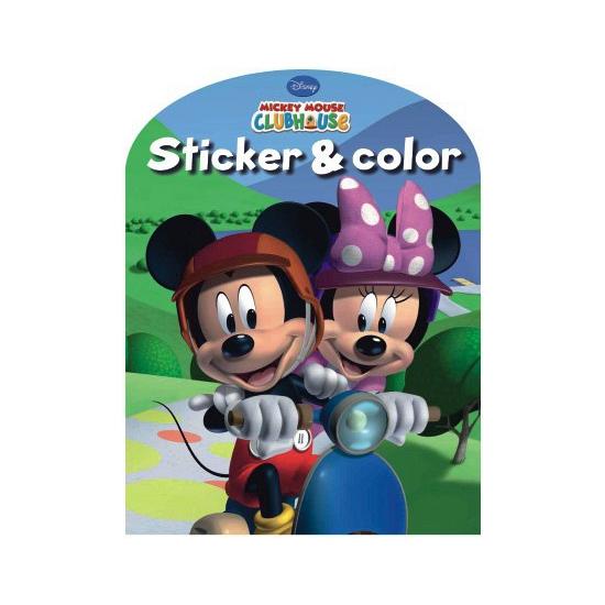 Kleurplaten Cars A4 Formaat.Disney Kleurplaten Boek Mickey Mouse Clubhuis Winkel
